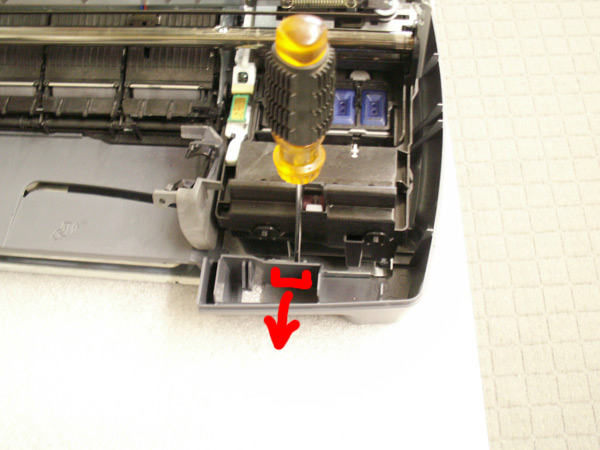 HP 7100 Disassembly Guide Image